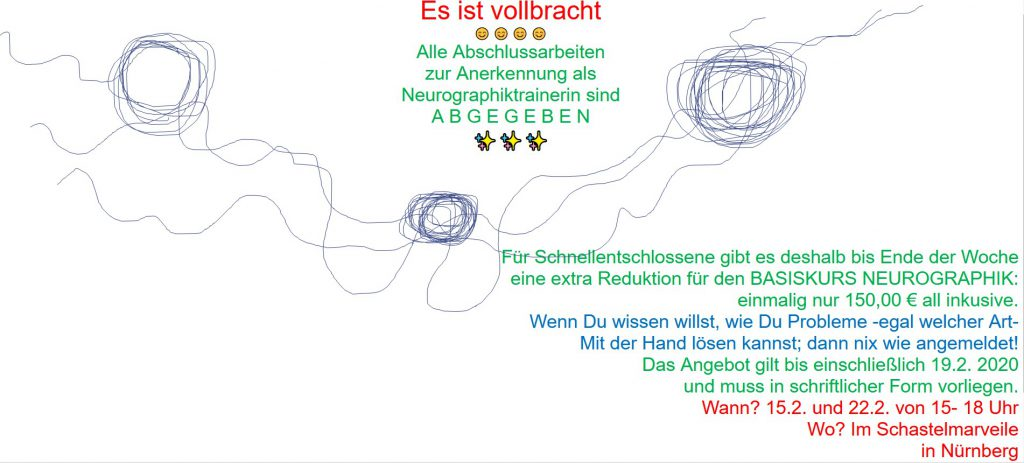 Neurographik-Training mit Mona Henken-Mellies